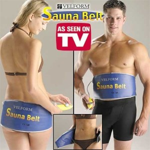 Quick Weight Loss for Ladies and Men Sauna Belt Velform Electric Body Tummy Waist Slimming 55W