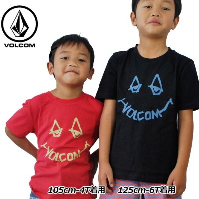 volcom ボルコム キッズ Tシャツ 3-7歳 Chill Face S/S Tee Little Youth ユース 半そで Y3511804