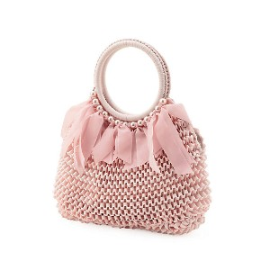 【SALE(伊勢丹)】 TO BE CHIC/TO BE CHIC  トリコBAG(W5108740__) ピンク 【三越・伊勢丹/公式】 バッグ~~ハンドバッグ