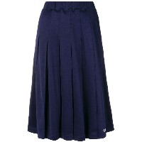 Stussy pleated midi skirt - ブルー