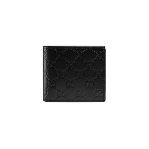 Gucci Gucci Signature coin wallet - ブラック