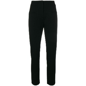 Dorothee Schumacher slim fit high waisted trousers - ブラック