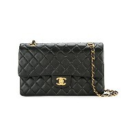 Chanel Vintage quilted flap bag medium - ブラック