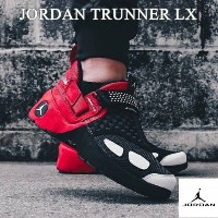 nike ナイキ 【メンズサイズ(25.0-32.0cm)】 NIKE JORDAN TRUNNER LX OG BULLS (Black/White/Gym Red) エア・フォース1 スニーカー...