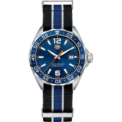 タグ ホイヤー メンズ 腕時計【waz1010fc8197 formula 1 stainless steel watch】Blue