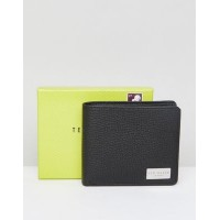 ted baker bifold wallet with coin pocket in leather コイン ウォレット ポケット 財布 イン テッド レザー ベイカー 小物 ブランド雑貨 バッグ...