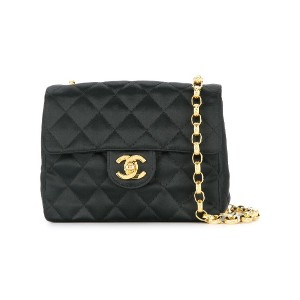 b953382f360a CHANEL PRE-OWNED チェーン ショルダーバッグ - ブラック