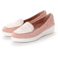 【SALE 40%OFF】フィットフロップ fitflop SNEAKERLOAFER - LUXE-TWEED (Dusky Pink) レディース