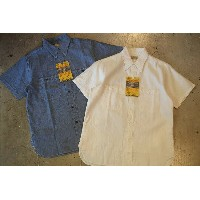 BUZZRICKSON'S(バズリクソンズ)【BR35857】【CHAMBRAY S/S WORK SHIRTS】シャンブレー半袖ワークシャツCOTTON100% MADE IN JAPAN