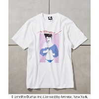 【NAGEL×STARTER BLACK LABEL】別注TEE ONE【フーズフーギャラリー/WHO'S WHO gallery レディス, メンズ Tシャツ・カットソー ホワイト ルミネ...