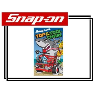 Snap-on(スナップオン)タオル「TOP OF THE TOOL CHAIN TOWEL」