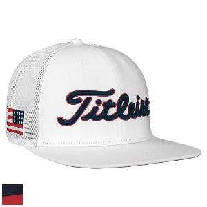 Titleist USA Flag Tour Flat Bill Hat【ゴルフ ゴルフウェア>帽子】