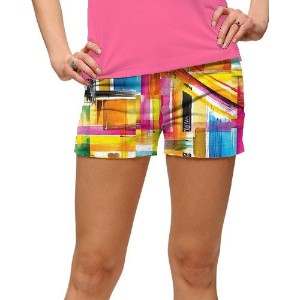 LoudMouth Ladies Strokes StretchTech Mini Shorts【ゴルフ レディース>パンツ】
