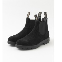 UR Blundstone SUEDE LEATHER【アーバンリサーチ/URBAN RESEARCH メンズ ショートブーツ BLACK ルミネ LUMINE】