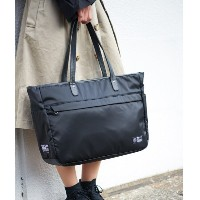 Business Tote Bag(THE SIMPLICITY)【ラシット/russet レディス トートバッグ ブラック ルミネ LUMINE】