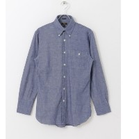 UR FREEMANS SPORTING CLUB BUTTON DOWN SHIRTS【アーバンリサーチ/URBAN RESEARCH メンズ シャツ・ブラウス CHAMBRAY ルミネ...