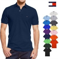[Tommy Hilfiger] Short Sleeve Custom Fit Polo T-Shirts