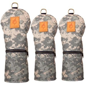 Rose & Fire Explorer Series MIL SPEC Digital Camouflage Headcove【ゴルフ アクセサリー>ヘッドカバー】