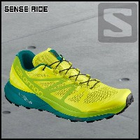 サロモン SalomonSENSE RIDESULPHUR SPRING/LIME GREEN/DEEP LAKE