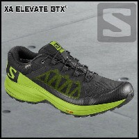 サロモン SalomonXA ELEVATE GTXBLACK/LIME GREEN/BLACK