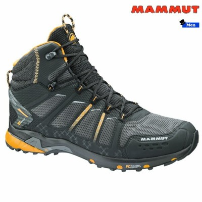 マムート(MAMMUT) T Aenergy Mid GTX Men black-dark radiant トレッキングシューズ (MAMMUT_2018FW)