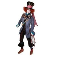 Barbie(バービー) Tim Burton's Alice In Wonderland Mad Hatter (マッドハッター) Doll ドール 人形 フ