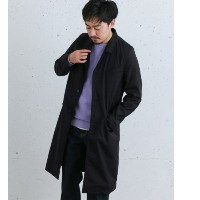 Sonny Label NYUZELESS PACKABLE CHESTER COAT【アーバンリサーチ/URBAN RESEARCH メンズ ノーカラーコート NAVY ルミネ LUMINE】