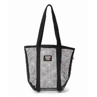 【BAGS USA】別注GROCERY TOTE MESH BASE:バッグ【ジャーナルスタンダード/JOURNAL STANDARD レディス トートバッグ ブラック ルミネ LUMINE】