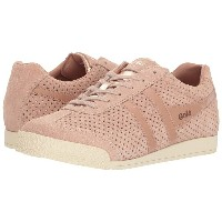 ゴラ レディース スニーカー シューズ Harrier Glimmer Suede Blush Pink/Rose Gold/Off-White