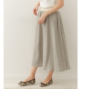 DOORS O'NEIL OF DUBLIN Linen Swing Skirt【アーバンリサーチ/URBAN RESEARCH レディス スカート STONEBEIGE ルミネ LUMINE】