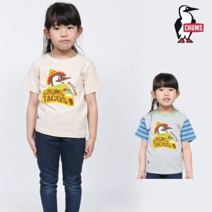 CHUMS チャムス キッズ Tシャツ KID'S TACOS MUCHO! T-SHIRT 半袖 トップス CH21-1057