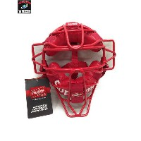 Supreme 18SS Rawlings Catcher's Mask キャッチャーマスク 赤【中古】
