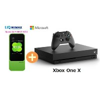 UQ WiMAX 正規代理店 3年契約UQ Flat ツープラスまとめてプラン1100マイクロソフト Xbox One X + WIMAX2+ Speed Wi-Fi NEXT W04...