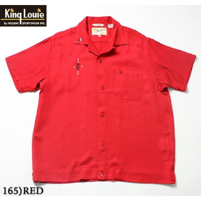 "No.KL37834 KING LOUIE キングルイby HolidayBOWLING SHIRT ""TRIPLE CROWN"""