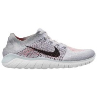 (取寄)ナイキ メンズ フリー RN フライニット 2018 Nike Men's Free RN Flyknit 2018 Pure Platinum Black White Wolf Grey...