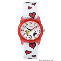 TIMEX × PEANUTS / SNOOPY WATCH【ビームス ウィメン/BEAMS WOMEN レディス, キッズ 腕時計 RED ルミネ LUMINE】
