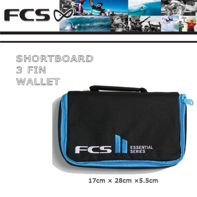 FCS【エフシーエス】 SHORTBOARD 3 FIN WALLET フィンケース