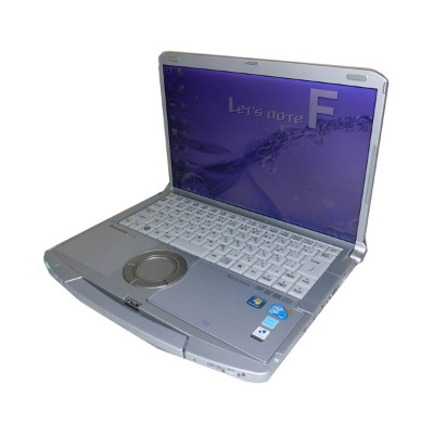中古ノートパソコン レッツノート Windows7 Panasonic Let'sNote CF-F9(CF-F9LYFGDR) Core i5-560M 2.66GHz/4GB/500GB...