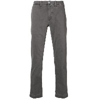 Jacob Cohen slim fit chinos - グレー