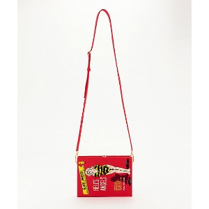 OLYMPIA LE-TAN/オリンピア・ル・タン  BOOK CLUTCH(FW17BBC100) RED 【三越・伊勢丹/公式】 バッグ~~パーティーバッグ