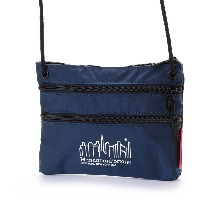 マンハッタンポーテージ Manhattan Portage CORDURA® Lite Collection Triple Zipper Pouch (Navy) レディース メンズ