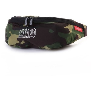 マンハッタンポーテージ Manhattan Portage CORDURA® Lite Collection Brooklyn Bridge Waist Bag (W.Camo) レディース
