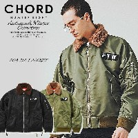 2018 A/W 先行予約 10月~11月入荷予定 コードナンバーエイト CHORD NUMBER EIGHT BOA MA-1 JACKET n8m1h5-jk09 chordnumbereight...