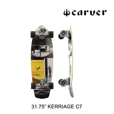 CARVER カーバー スケートボード SKATEBOARD KERRIAGE C7 COMPLETE MULTI 31.75""