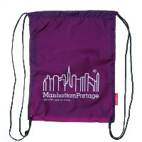 マンハッタンポーテージ Manhattan Portage CORDURA® Lite Collection Drawstring Bag (Purple) レディース メンズ