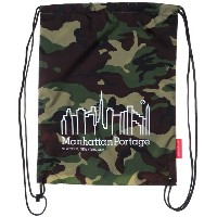 マンハッタンポーテージ Manhattan Portage CORDURA® Lite Collection Drawstring Bag (W.Camo) レディース メンズ