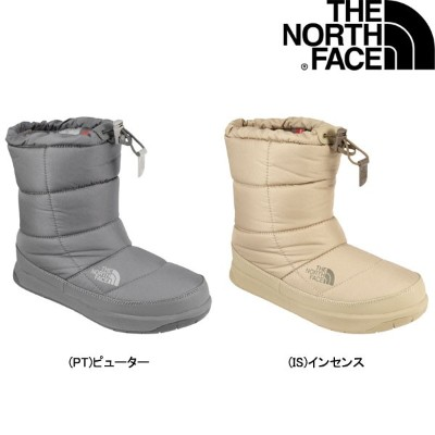 THE NORTH FACE【W Nuptse Bootie WP IV/NFW51685】23.0cm