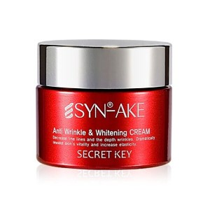 [韓国コスメ Secret Key] シンエイク Anti Wrinkle Whitening クリーム Secret Key SYN-AKE Anti Wrinkle Whitening Line