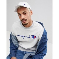 チャンピオン メンズ 帽子 アクセサリー Champion All Over Print Baseball Cap In White White