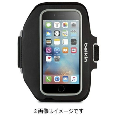 BELKIN iPhone 6s Plus/6 Plus用 Sport-Fit Plus アームバンド ブラック F8W625btC00 JP